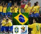 Selection of Brazil, Group G, South Africa 2010