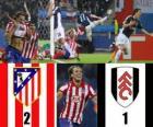 Europe League Final 2009-10 Atletico Madrid 2 - Fulham FC 1