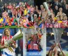 Atletico Madrid Champion, Europa League 2009-10