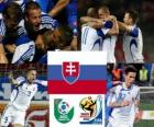 Selection of Slovakia, Group F, South Africa 2010