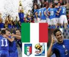 Selection of Italy, Group F, South Africa 2010