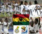 Selection of Ghana, Group D, South Africa 2010