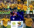 Selection of Australia, Group D, South Africa 2010