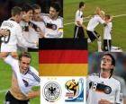 Selection of Germany, Group D, South Africa 2010