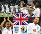 Selection of England, Group C, South Africa 2010