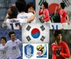 Selection of South Korea, Group B, South Africa 2010