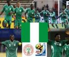 Selection of Nigeria, Group B, South Africa 2010