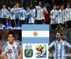 Selection of Argentina, Group B, South Africa 2010