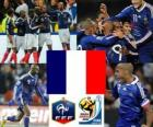 Selection of France, Group A, South Africa 2010