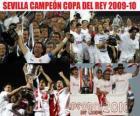 Cup champion Sevilla 2009-2010