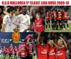 RCD Mallorca 5th Classified League BBVA 2009-2010