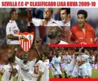 Sevilla FC 4 Classified League BBVA 2009-2010