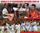 Sevilla FC 4 Classified League BBVA 2009-2010