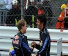 Mark Webber and Sebastian Vettel - Red Bull - Monte-Carlo 2010 (1st and 2nd Classified)