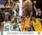 NBA Finals 2009-10, Small Forward, Paul Pierce (Celtics) vs Ron Artest (Lakers)