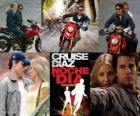 Knight and Day, where Roy Miller (Tom Cruise) is a secret agent with a blind date with June Havens (Cameron Diaz), an unhappy love.
