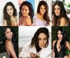 Vanessa Hudgens her greatest success has been involved in the movies High School Musical.