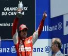Fernando Alonso - Ferrari - Montreal, 2010 (Ranked 3rd)