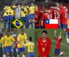 Brazil - Chile, South Africa 2010