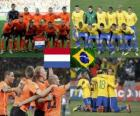 Nederland - Brasil, quarter finals, South Africa 2010