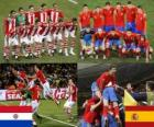 Paraguay - Spain, quarter finals, South Africa 2010