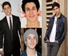 David Henrie is most well known for playing Larry on That's So Raven, and Justin Russo in Wizards of Waverly Place.