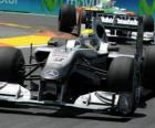 Nico Rosberg - Mercedes - Valencia 2010