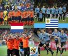 Netherlands - Uruguay, semi-finals, South Africa 2010