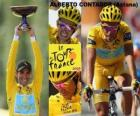 Alberto Contador, winer of the Tour de France 2009