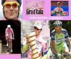 Ivan Basso, winner of the Giro Italy 2010