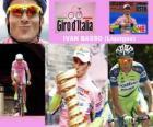 Ivan Basso, winner of the Giro Italy 2010