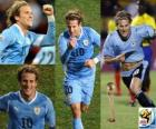 Diego Forlan, Best Player (The Golden Ball) of the Football World Cup 2010 South Africa