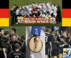 Germany, Ranked 3rd in the Football World Cup 2010 South Africa