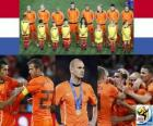 Netherlands, 2nd place in the Football World Cup 2010 South Africa