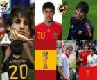 Javi Martinez (Delivery of Spain) Spanish National Team Midfielder