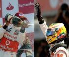 Lewis Hamilton - McLaren - Silverstone 2010 (2nd place)