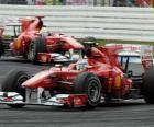 Fernando Alonso, Felipe Massa - Ferrari - Hockenheimring, 2010