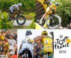 The 2010 Tour de France: Alberto Contador and Andy Schleck