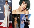 Collage of Rihanna