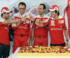 29th Anniversary of Fernando Alonso at the Hungarian Grand Prix 2010