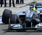 Nico Rosberg - Mercedes - Hungaroring, Hungarian Grand Prix 2010