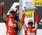 Fernando Alonso - Ferrari - Hungaroring, Hungarian Grand Prix (2010) (2nd place)