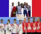4x100m champions, London 2012