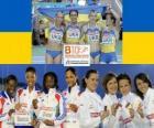 4x100m champions, Barcelona 2010