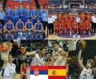 Serbia - Spain, quarter finals, 2010 FIBA World Turkey