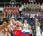 Turkey - Slovenia, quarter finals, 2010 FIBA World Turkey