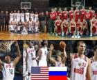United States - Russia, quarter finals, 2010 FIBA World Turkey