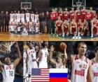 United States - Russia, quarter finals, 2010 FIBA World Turkey