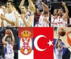 Serbia - Turkey,  semi-finals, 2010 FIBA World Turkey