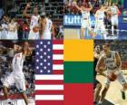 United States - Lithuania, semi-finals, 2010 FIBA World Turkey